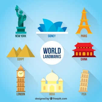 Schöne Welt Denkmäler