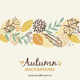 Schöner Herbst backgorund