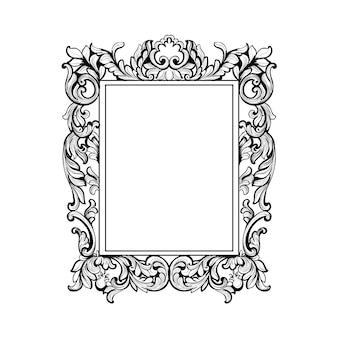 Schöner ornamentaler Rahmen