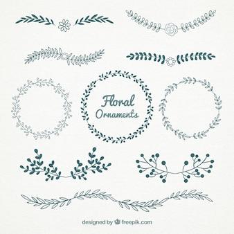 Schönes freies Blumengraphiken