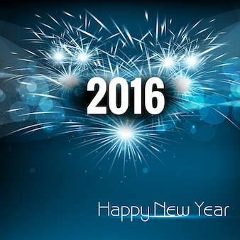 Schönes neues Jahr 2016 Hintergrund