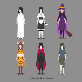 Schreckliche Halloween-Kostüme