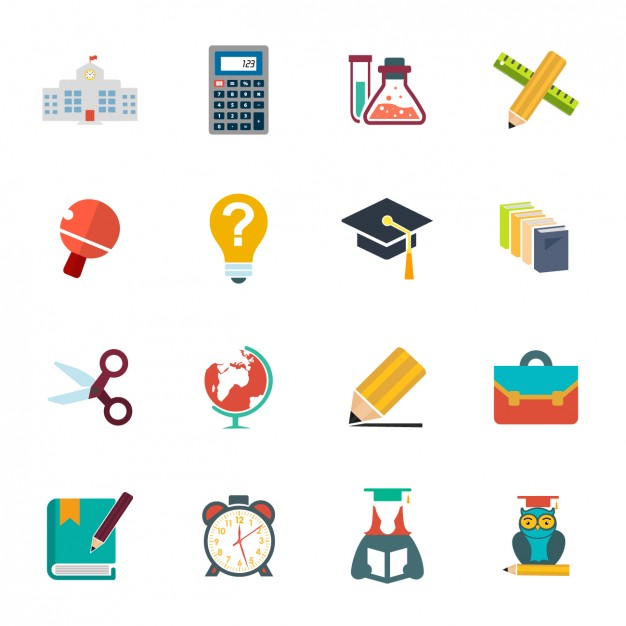 Schule Icon Collection