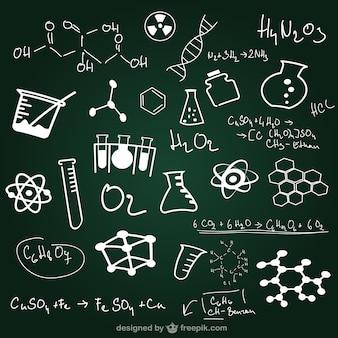 Schulstunde Tafel-Design