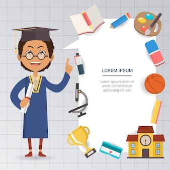 Schulvorlage Design