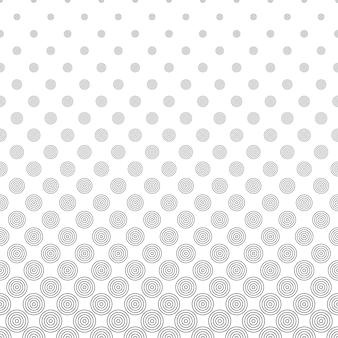 Schwarze Kreise auf weißem Hintergrund