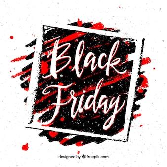 Schwarzer Freitag Hintergrund mit Rahmen