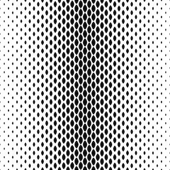 Schwarzweiss-ovaler Hintergrundentwurf