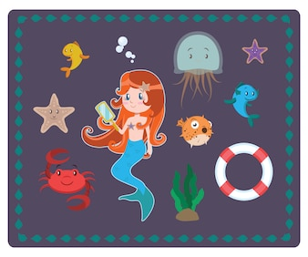 Sea Charaktersammlung