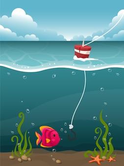 Seabed Hintergrund Design