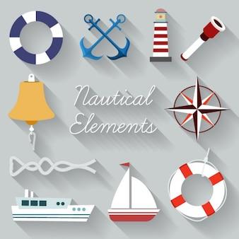 Segeln Element Sammlung