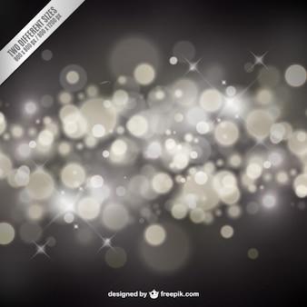 Silber Bokeh Hintergrund