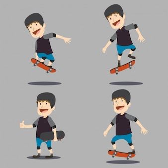 Skater Charakter-Design