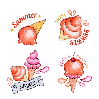 Sommer-Eis-Kollektion