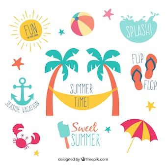 Sommer-Etiketten