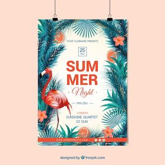 Sommernachtplakat