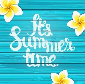 Sommerzeit Hintergrund.