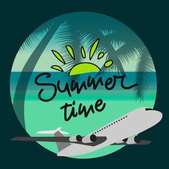 Sommerzeitplakat