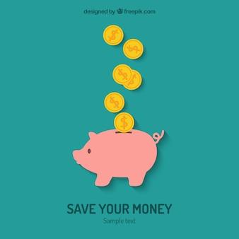 Sparen Sie Ihr Geld