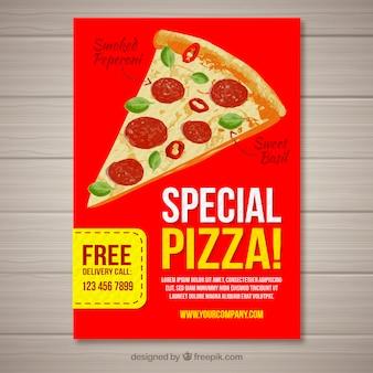 Spezielle Pizza-Broschüre