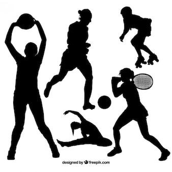 Sport-Silhouetten-Pack
