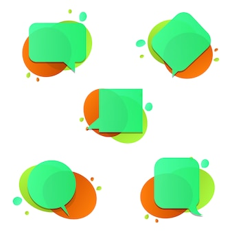 Sprechblasen-Sammlung
