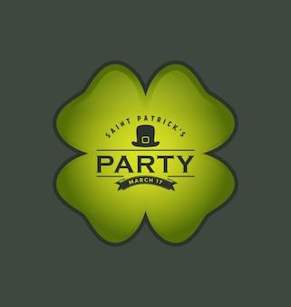 St. Patrick Hintergrund-Design