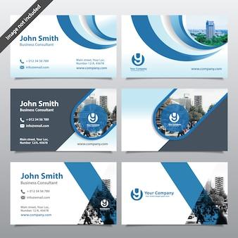 Stadt-Hintergrund-Visitenkarte-Entwurfs-Schablone. Kann sich an Broschüre, Geschäftsbericht, Magazin, Poster, Firmenpräsentation, Portfolio, Flyer, Website anpassen