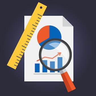 Statistiken Dokument Design