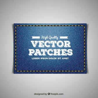 Stickerei-Jeans-Patch