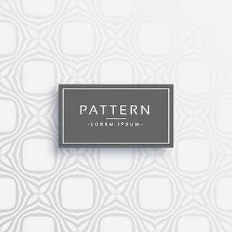 Stilvolle graue Linie Vektor Muster Design