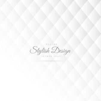 Stilvolle weiße Muster-Design