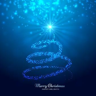 Stilvollen Weihnachtsbaum
