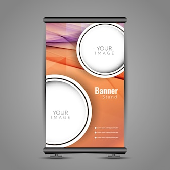 Stylish rollen Banner Design
