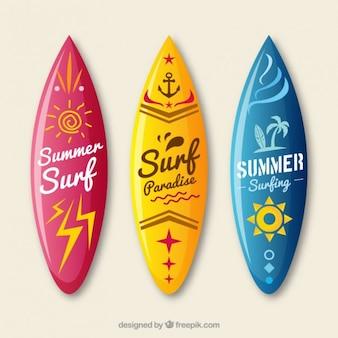 Surfbrett Sammlung