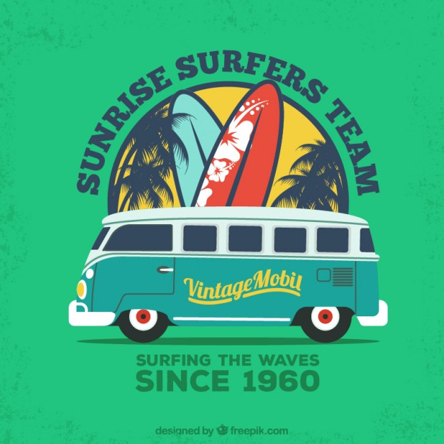 Surfers Team poster