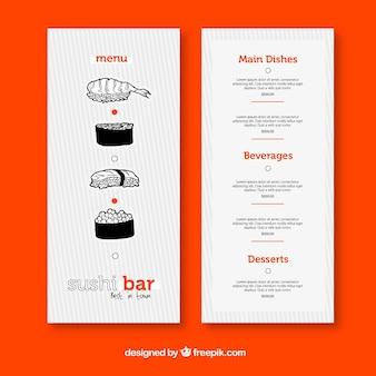 Sushi Restaurant Menü