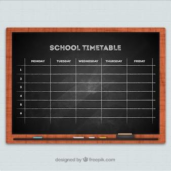Tafel Schule Zeitplan