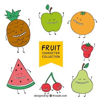 Tanzfrucht-Charakter-Sammlung