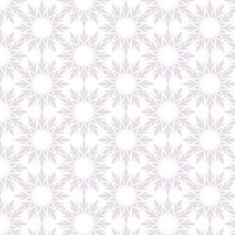 Tapete im Stil des Barock. Ein nahtloser Vektorhintergrund. Blumenmuster.