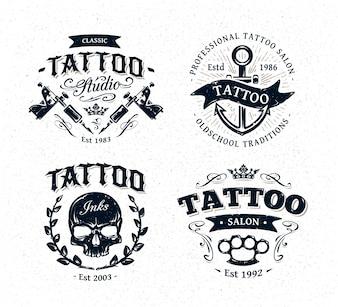 Tattoo-Logo-Sammlung