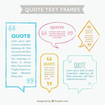 Text Sprechblase Sammlung