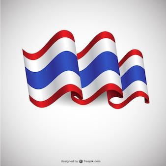 Thailand-Flagge