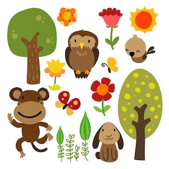 Tiere Charakter Design