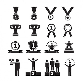 Trophy-Ikonen-Sammlung