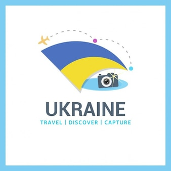 Ukraine Travel Logo