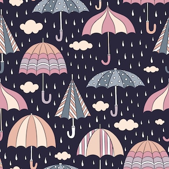 Umbrella Muster Hintergrund