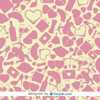 Valentines Hintergrund Vektor