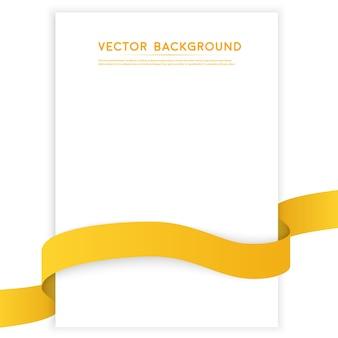 Vector Farbe Bänder isoliert auf weiß