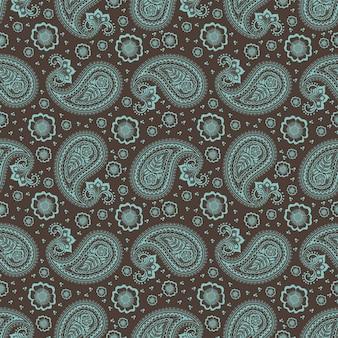 Vector floral nahtlose Muster Hintergrund im arabischen Stil. Arabeskenmuster Östliches ethnisches Ornament Elegante Textur für Hintergründe.